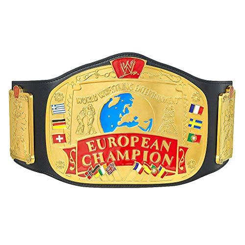 WWE Authentic Wear European Championship Replica Title Belt Multi