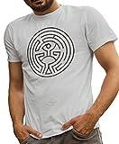 LeRage Camisas Arnolds Maze Camiseta Westworld para hombre