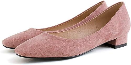 GRHWTAS Escarpins pour pour pour Femmes OL Office Chaussures pour Femmes Toutes allumettes Escarpins Chaussures pour célibataires à Talons Chaussures à Talons épais pour Femmes 8f1