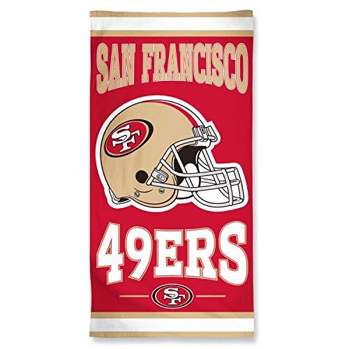 Wincraft NFL SAN FRANCISCO 49ers Fiber Beach Towel