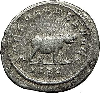 1000 IT OTACILIA SEVERA 248AD 1000 Years of Rome HIPPOPOT coin Good
