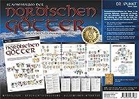 Info-Tafel-Set Stammbaum der nordischen Goetter: Stammbaum der nordischen Goetter nach der Edda von Snorri Sturluson. 5 Tafeln im Set.