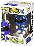 Funko- Power Rangers Blue Ranger Figura de Vinilo, Multicolor, Estándar (10311)