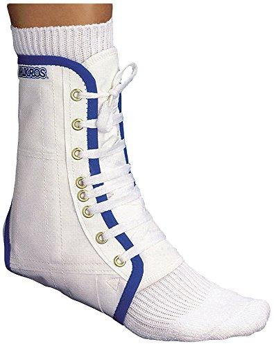 Mikros Fußgelenkstütze 110 Stabil, weiß, Größe L (Schuhgröße 44-45)