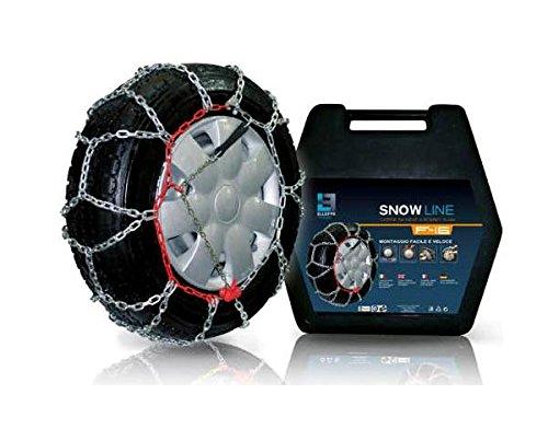 Snow Line Sky + – 240–16 mm Chaînes à Neige pour Vans Groupe 240 Taille 235/70 R15 – TUV Certifié
