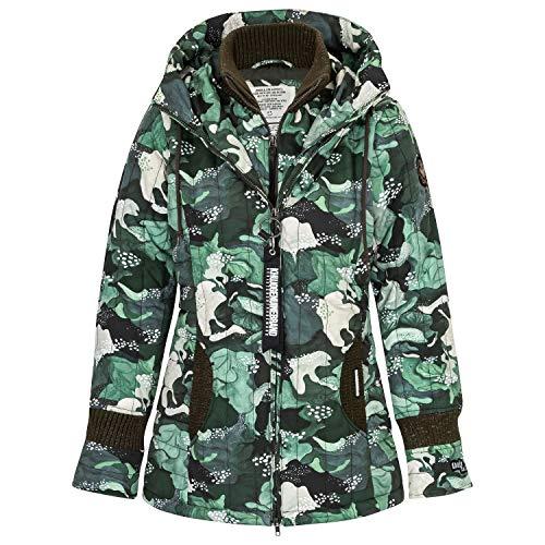 khujo Damen Winterjacke Tweety Prime 3 (H) 1402JK193 Forest-Camouflage L