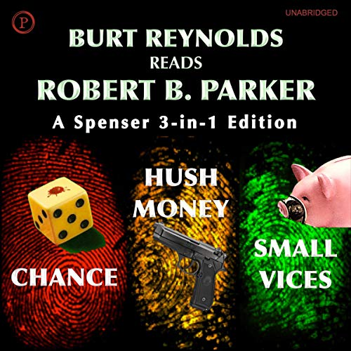 Burt Reynolds Reads Robert B. Parker cover art