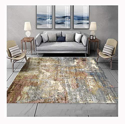 HOCOL Creative Teppich Innenbereich FußMatte Extra-Groß Rechteck Modern Teppichboden Teppich Für Schlafzimmer Raumdekoration -80×160cm-AW