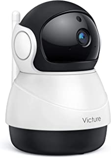 Victure 1080P FHD WiFi IP Camera Indoor Wireless Security Camera with Motion Detection Night Vision Home Surveillance Moni...