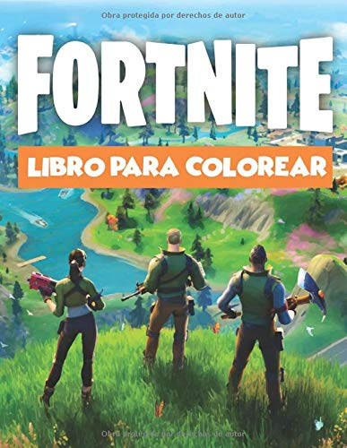 Fortnite Libro Para Colorear: Diseños Hermosos de Fortnite Para Colorear y Divertirse