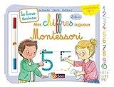Livres-ardoises Montessori - Mes chiffres rugueux Montessori - 3 à 6 ans - Editions Bordas 2019