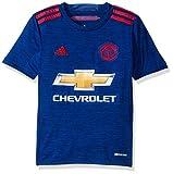 adidas Camiseta Unisex del FC Bayern de Múnich, Niños, F1606LHMU101Y, Collegiate Royal/Rojo, Extra-Large