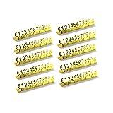 Juego de 10 estantes 3D de metal ajustables € o £ Precio Cube Kit para tienda, expositor, joyas, reloj, oficina, exhibición, etiquetas, oro, plata, bronce