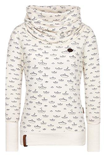 Naketano Damen Longsleeve Wollstiges Turngerät T-Shirt LS