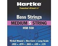 Hartke HSB550 Medium Bass Strings (5-String Set) [並行輸入品]