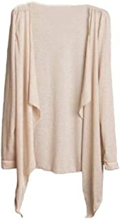 Howely Women's Long Sleeve UPF50+ Thin Pure Color Fashion Cover-ups Beach Dress