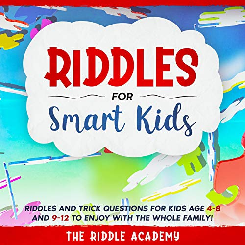 Riddles for Smart Kids Audiobook By The Riddle Academy cover art
