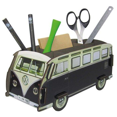 Stiftebox VW Bus Bulli Herzen Stiftehalter Stifteköcher WE2088 Werkhaus Photo