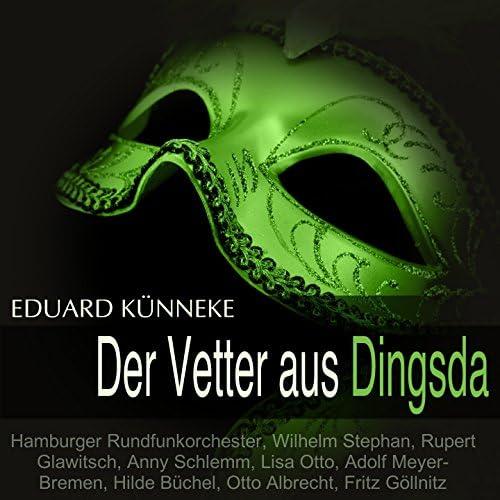 Hamburger Rundfunkorchester, Wilhelm Stephan, Rupert Glawitsch, Anny Schlemm