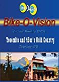 Bike-O-Vision - Virtual Cycling Adventure - Yosemite & 49'ers Gold Country - Perfect for Indoor...