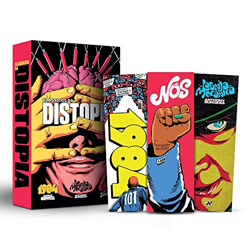 Box Clássicos da distopia