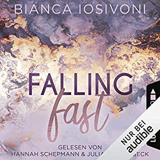 Falling Fast (German edition)     Hailee & Chase 1              By:                                                                                                                                 Bianca Iosivoni                               Narrated by:                                                                                                                                 Hannah Schepmann,                                                                                        Julian Horeyseck                      Length: 13 hrs and 29 mins     Not rated yet     Overall 0.0