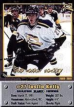 (CI) Justin Kelly Hockey Card 2000-01 Saskatoon Blades 27 Justin Kelly