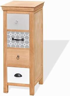 GH-YS Armoire de Rangement Armoire à tiroirs en Bois Massif élégant et Robuste 35 x 35 x 90 cm