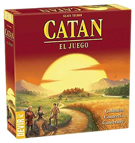 Devir - Catan, juego mesa - Idioma castellano BGCATAN