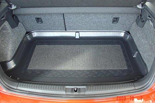 Kofferraumwanne mit Anti-Rutsch passend für VW Polo 6R 2009- erhöhte Ladefläche