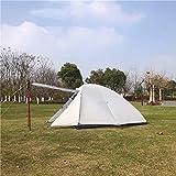 Tente BAJIE Czx-372 ultra-légère pour sac à dos Nemo 2P, tente Nemo 2 personnes, Tente de camping personnalisable Gris