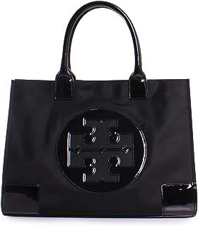 Tory Burch Women's Ella Nylon Nylon Top-Handle Bag Tote - Black/Black