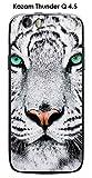ONOZO Kazam Thunder Q4.5Case White Tiger Design