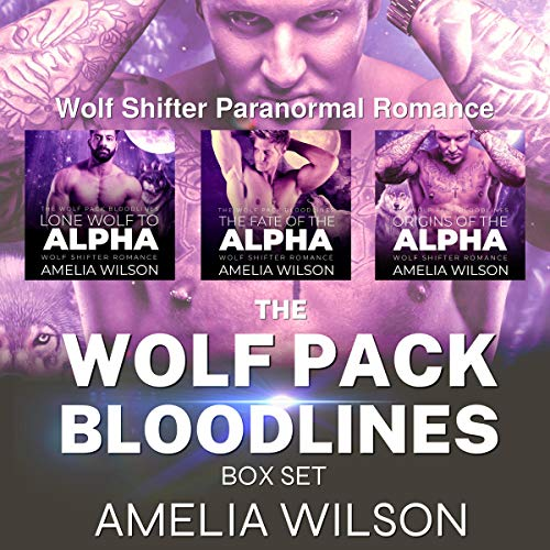 The Wolf Pack Bloodlines Box Set: Complete Series audiobook cover art