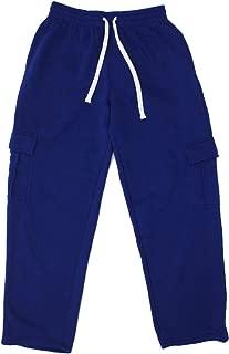 Henry & William Men's Basic Style Heavy-Weight Fleece Cargo Pants