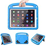 LTROP iPad 4/ 3/ 2 Case for Kids - Light Weight Shock Proof Convertible Handle Stand Case for iPad 9.7' iPad 4th Generation/ iPad 3rd Generaion/ iPad 2 - Blue