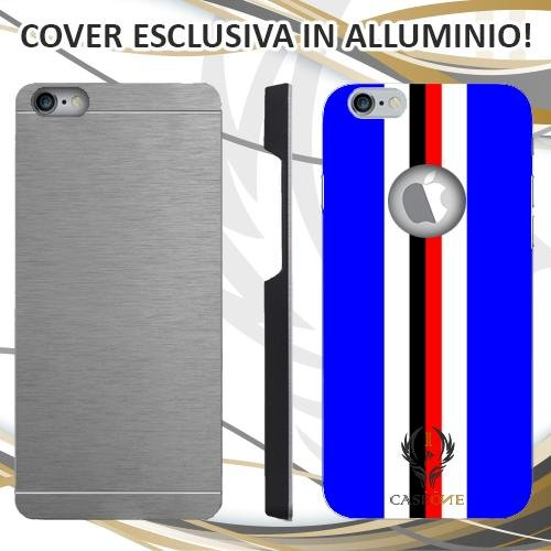 Custodia Cover Case Sampdoria per iPhone 6 Plus in Alluminio