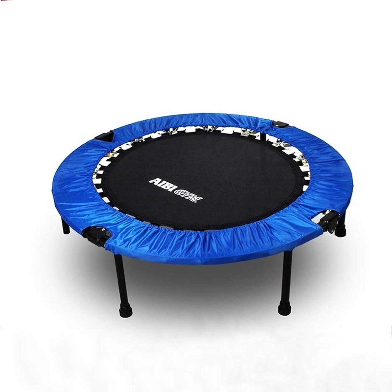 hasta 60% de descuento Trampolín Hogar Interior Entretenimiento para Niños Trampolín Adulto Adulto Adulto Gimnasio Plegable Trampolín (Azul)  marca famosa