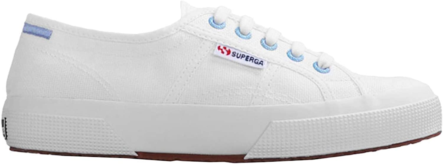 Superga Womens 2750 Multicolour Details COTW Canvas Trainers