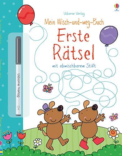 Mein Wisch-und-weg-Buch: Erste Rätsel: mit abwischbarem Stift