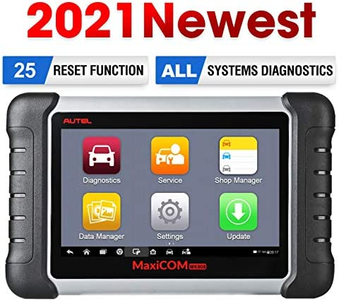 Autel MaxiCOM MK808 OBD2 Scanner Diagnostic Scan Tool with All System Diagnosis and 25 Service product image