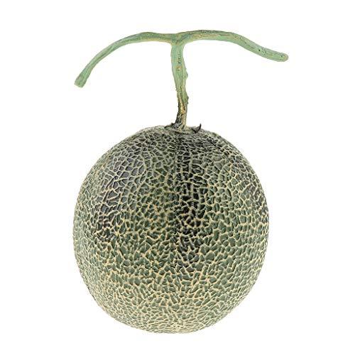 Generic Frutti Finti Artificiali Deliziosi per La Decorazione di Frutta Decorativa - Hami Melon - Hami Melon