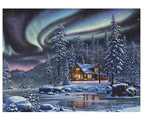ZPANPAN Snow Scene Animal Puzzle, Juguetes educativos para niños Adultos, Juguetes educativos para niños, Decoración del hogar 1000 Piezas 70X50Cm