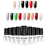 2018 Colores de la Esmaltes de Uñas en Gel Permanente Baratos por ESAILQ A