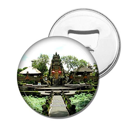 Weekino Indonesien Ubud Palace Bali Bier Flaschenöffner Kühlschrank Magnet Metall Souvenir Reise Gift