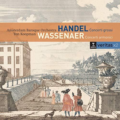 Concerti Grossi Op 6 Nos 1 2 4 & 6 / Van Wassenaer (2 CD)