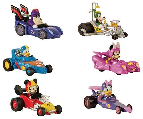 IMC Toys MMCH Veicoli Topolino e Gli Amici del Rally 1, Colore Assortito, 182509MM2