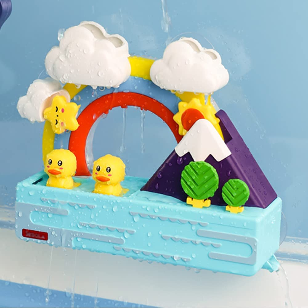 D-KINGCHY Baby Tampa Mall Bath Toys for Bathtub Inf Kids Milwaukee Mall Toddlers