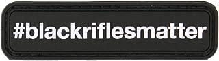 Black Rifles Matter PVC Morale Patch - Violent Little Machine - 2nd Id Tactical (Color)