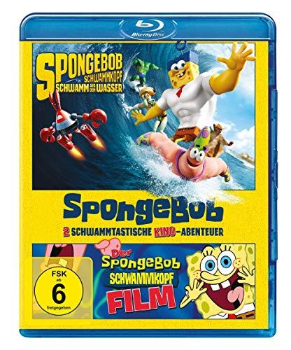 SpongeBob Schwammkopf - Der Film & Schwamm aus dem Meer [Blu-ray]